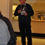 Bjarne Larsen hälsar alla välkomna och berättar lite om de kommande förutsättningarna och den stundande lottdragningen. Tyvärr hade ett återbud inkommit i sista stund