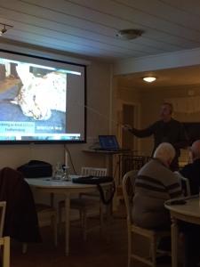Tommy Berglund föreläser om rovdjuren i Halland.